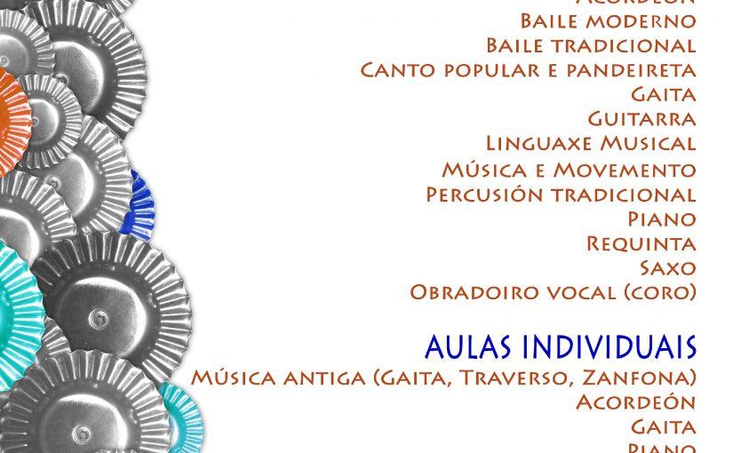 Inscripción para o Curso 2016-17