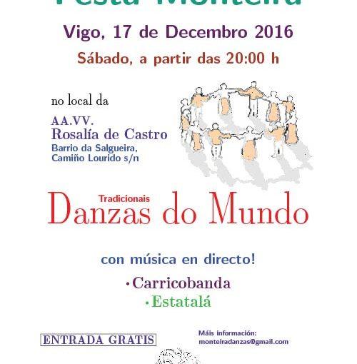 Festa da Asociación Cultural Monteira – Danzas Tradicionais do Mundo