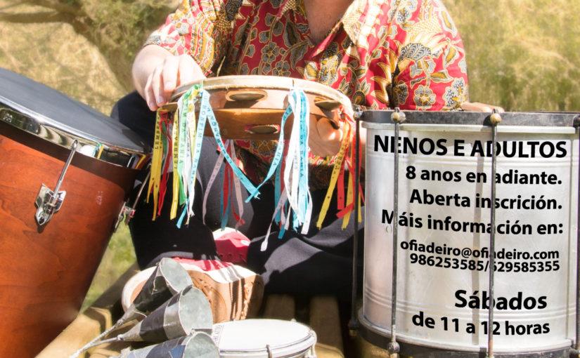 Curso de Percusión Brasileira